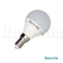 LAMPARA ESFERICA LED  6W E-14 3000K 500lm ø45x79mm 2835SMD