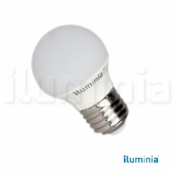 LAMPARA ESFERICA LED  6W E-27 3000K 500lm ø45x79mm 2835SMD